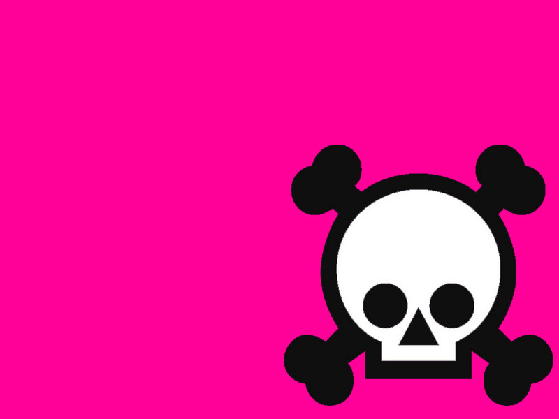 Cute Girly Skull Wallpapers Pink Musical Notes Background Clipart Panda Free