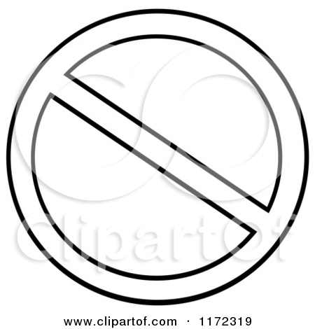 Construction Sign Clipart Black And White Clipart Panda - Free
