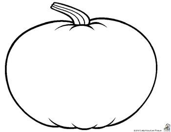 Blank Pumpkin Template - Costumepartyrun