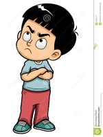 Angry Boy Clip Art