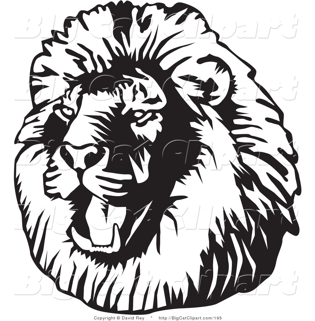 Roaring Lion Clip Art Black And White Lion Clip Art Black And White Clipart Panda Free