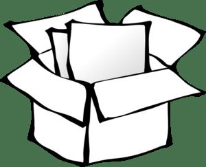 Box Outline Clip Art Vector Clipart Panda Free