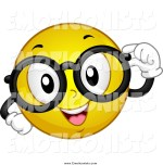 Smiley Face With Nerd Glasses Clipart Panda Free Clipart