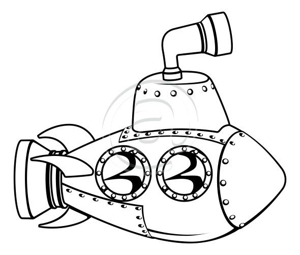 submarinos para pintar