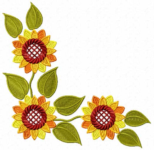 Fall Tree And Black Fence Wallpaper Sunflower Border Design Clipart Panda Free Clipart Images