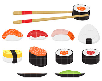 Sushi Clip Art Free Clipart Panda Free Clipart Images