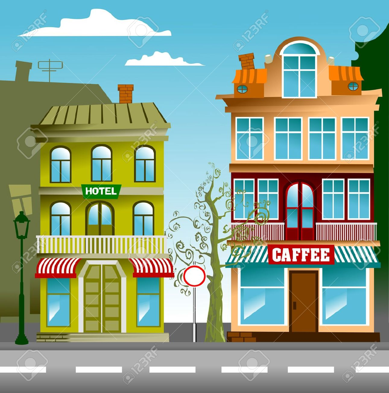 Free Animated Wallpaper Backgrounds Street Clipart Clipart Panda Free Clipart Images