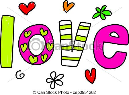 The Word Love Clipart Clipart Panda - Free Clipart Images