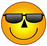 Smiley Face With Sunglasses Clip Art