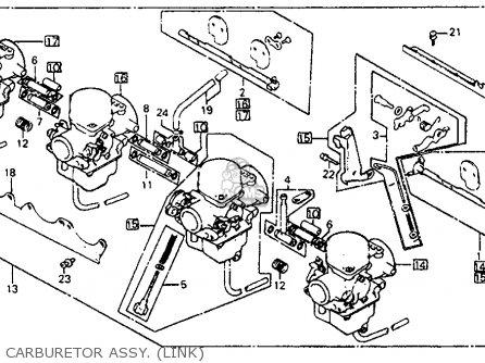 CARBURETOR ASSY for CB750C 750 CUSTOM 1981 (B) USA - order at CMSNL