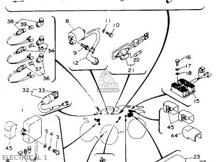 Wiring Harness For Yamaha Kodiak circuit diagram template