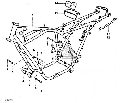 GRIP,FRAME for GS550 1981 (X) GENERAL EXPORT (E01) - order at CMSNL