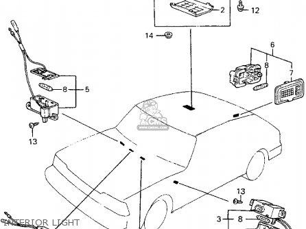for a 1982 honda accord fuse box