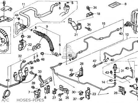 ac schematic in a honda accord ex 1992