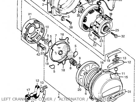 Honda ATC90 US90 1970 USA parts lists and schematics