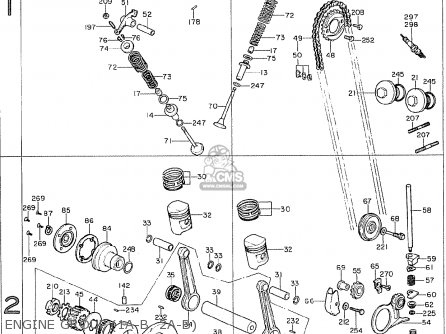 Honda CB125B6 GENERAL EXPORT parts lists and schematics