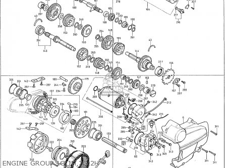 Honda CB400F GENERAL EXPORT MPH parts lists and schematics
