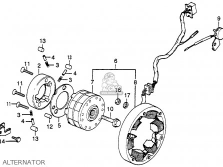 twin alternator wiring diagram