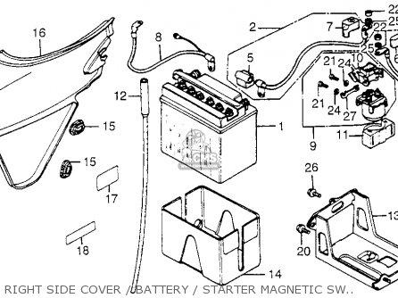 xs650 wiring diagram 1983