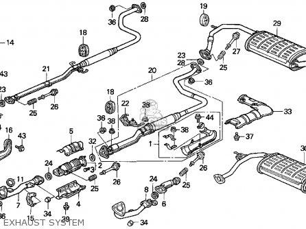 1986 honda civic engine diagram