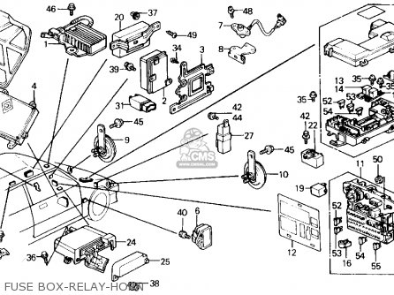 1994 Honda Civic Ex Fuse Box Diagram - Best Place to Find Wiring and