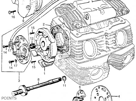 Honda Motorcycle Engine Diagram Online Wiring Diagram