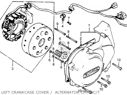 1973 honda xl250 wiring diagram