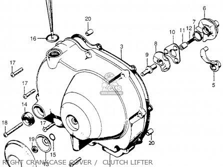 1971 honda ct90 parts diagram