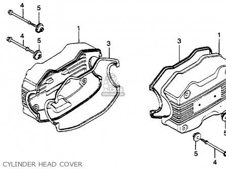 Honda Motorcycle Parts 1978 Gl1000 A Camshaft Valve Diagram Index