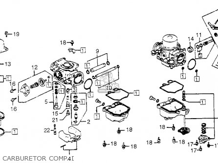 2301 honda h engine diagram