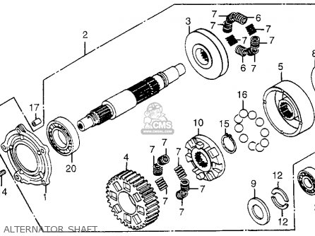 1986 Honda Gl1200 Goldwing Wiring Diagram Schematic Wiring