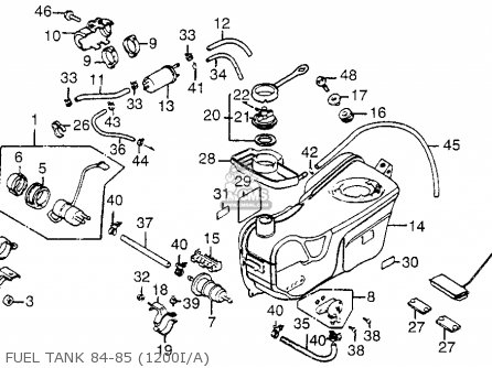 Honda Goldwing Wiring Diagram Also Honda Goldwing 1500 Wiring