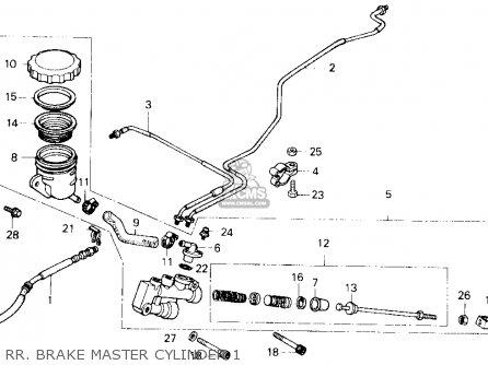 HONDA GOLDWING GL1200 1986 WIRING DIAGRAM - Auto Electrical Wiring