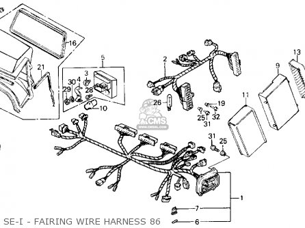 Gl1200 Sei Wiring Diagram Cbr250 Wiring Diagram, Ignition Wiring