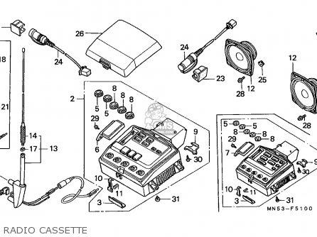 goldwing audio wiring diagram on honda goldwing 1800 engine diagram  gl1500