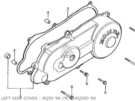 1986 Honda Spree Engine Diagram Wiring Diagram