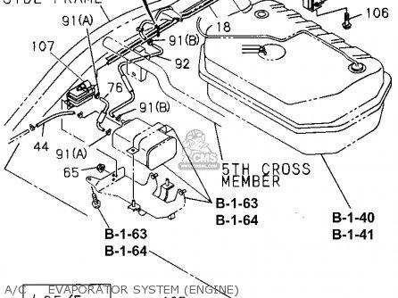 1995 honda passport engine diagram