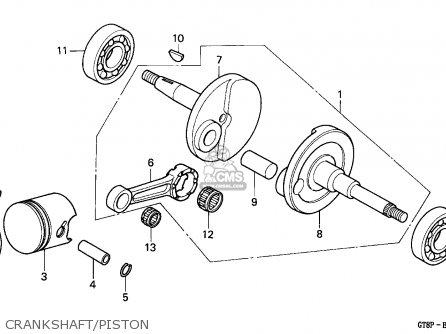 Honda PK50M WALLAROO 1993 (P) SPAIN / SEL parts lists and schematics
