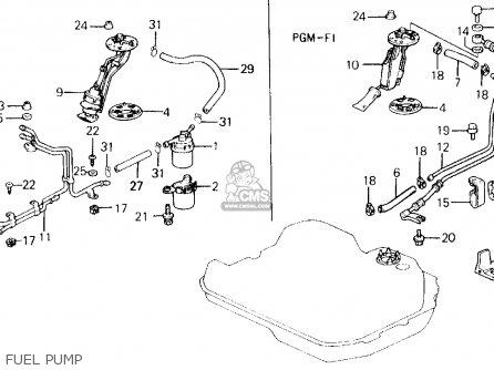 1989 honda prelude si wiring diagram