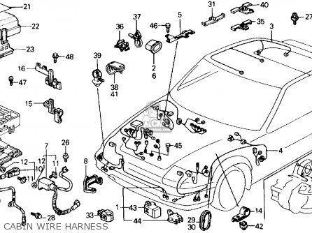 1988 Honda Prelude Fuse Box Location Wiring Schematic Diagram