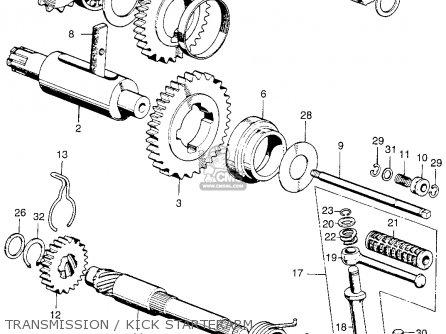 1971 honda cl70 wiring diagram