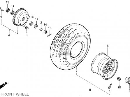 honda atc 250sx wiring diagrams