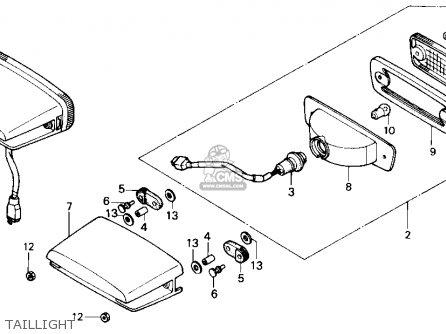 86 honda trx 70 wiring diagram