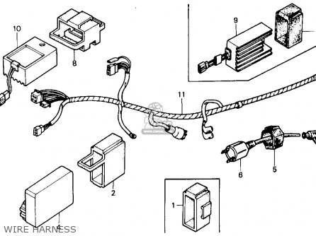 KYMCO 250CC WIRING HARNESS - Auto Electrical Wiring Diagram
