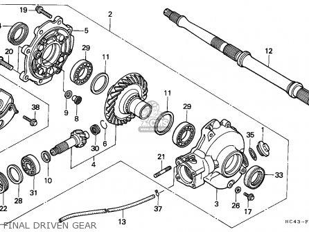 1997 honda fourtrax wiring diagram