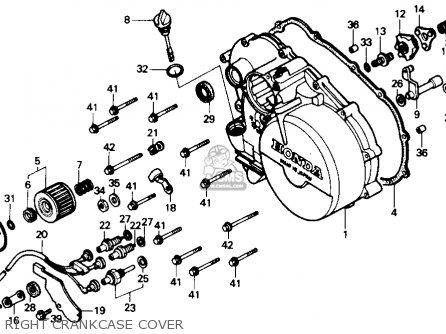 Honda Fourtrax 300 Parts Diagram Honda 300 Parts Diagram - 107
