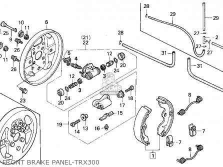 Honda 300 Trx Electrical Diagram Index listing of wiring diagrams