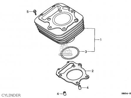 Honda TRX300EX FOURTRAX 1997 (V) USA parts lists and schematics