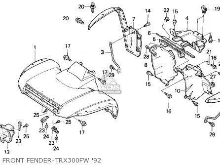 DOC ➤ Diagram Honda Trx300fw Wiring Diagram Ebook Schematic