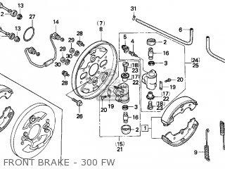 trx300 wiring diagram color